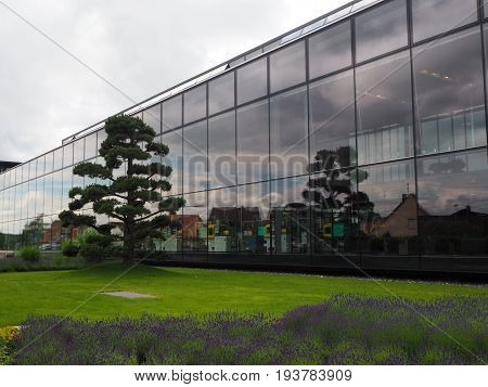 A modern plant in accordance with ecological requirements, Germany