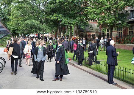 University Graduation Day