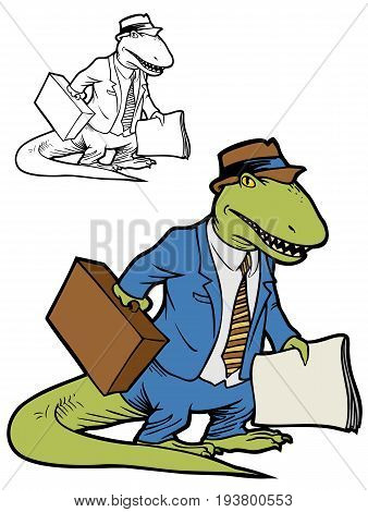 When your boss is so behind the times, he might as well be a dinosaur.