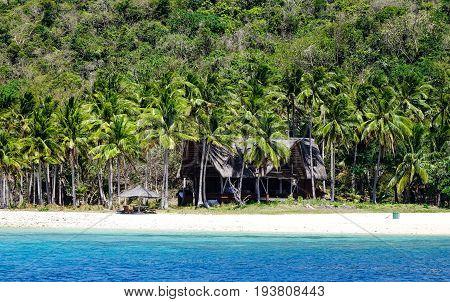 Seascape Of Coron Island, Philippines