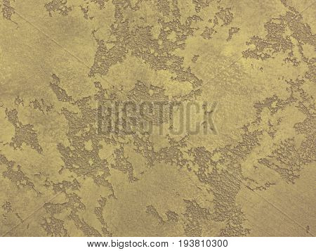 Yellow beige venetian plaster background texture. Traditional venetian plaster texture grain pattern drawing. Classic stucco plaster stone texture. Yellow traditional Venetian plaster wall texture.