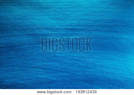 Background Painted Of Blue Color. Abstract  Background.