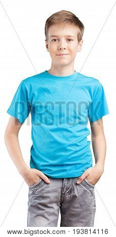 Teenager hands teen handsome standing looking at camera arms outstretched
