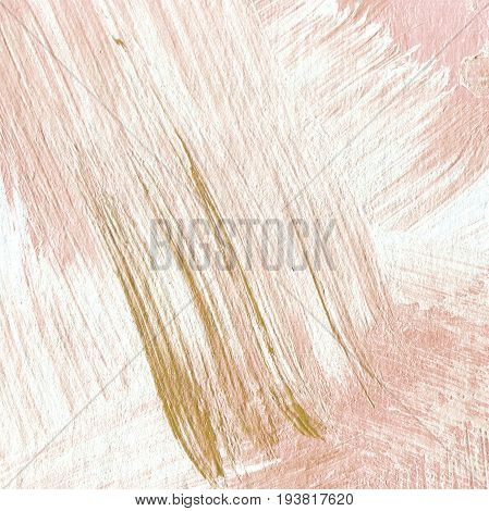 Abstract Textured Acrylic Background In Beige Shades