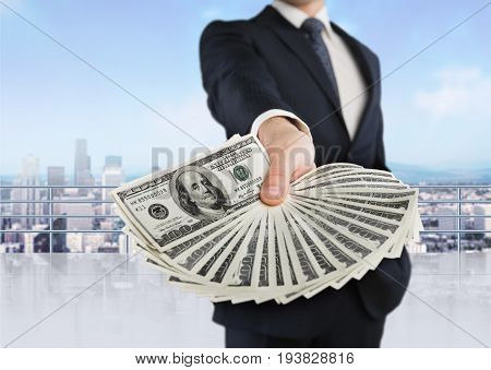 Money business hand businessman us wealthy wealth