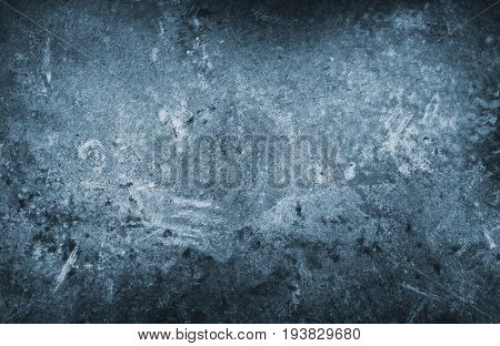 Blue grunge texture from stone