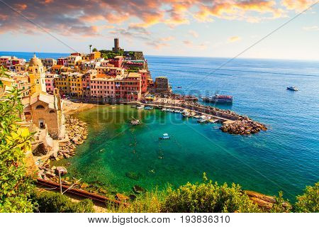 Beautiful View Of Vernazza
