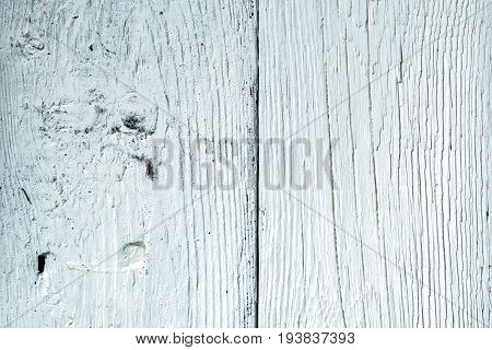 Photo of white wooden texture, board vertically