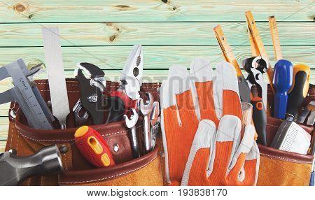 Work tool toolbox repairing bag repairman home improvement construction worker