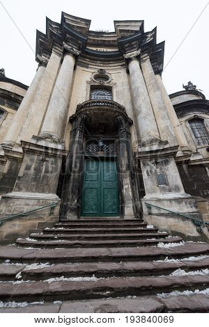 Elements Of The Architecture Of The Building. Lviv.