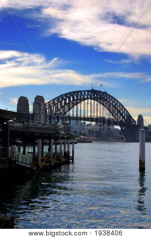 Sydney Harbour Bridge...