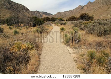 Pinery Trail, Guadalupe Mountains National Park, Texas