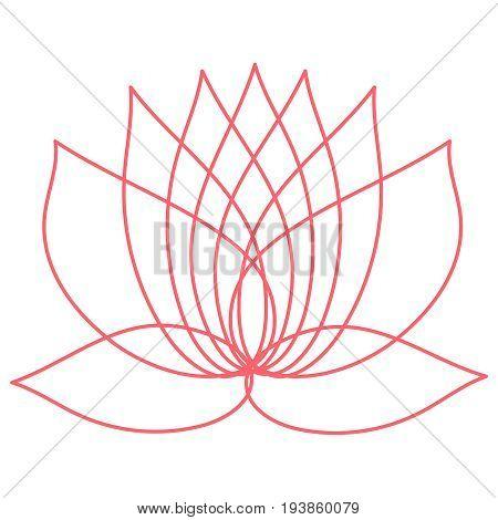 Pink Lotus Flower Vector Photo Free Trial Bigstock