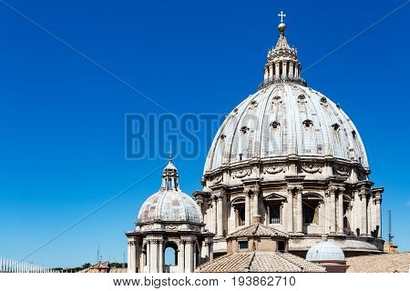 Basilica Di San Pietro From Roof, Vatican City