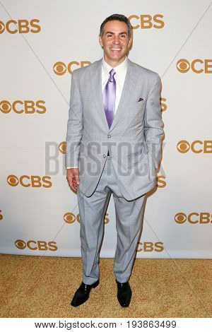 Former St Louis Rams quarterback Kurt Warner attends the 2015 CBS Upfront at The Tent at Lincoln Center on May 13, 2015 in New York City.