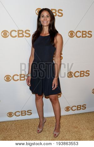 Tracy Wolfson attends the 2015 CBS Upfront at The Tent at Lincoln Center on May 13, 2015 in New York City.