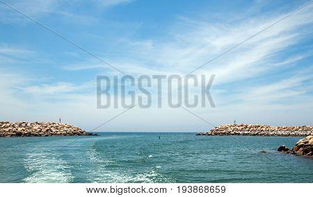 San Jose Del Cabo Harbor In Cabo San Lucas Baja California Mexico Bcs