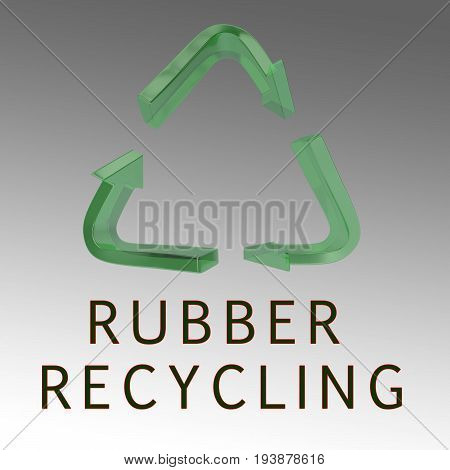 Rubber Recycling Concept