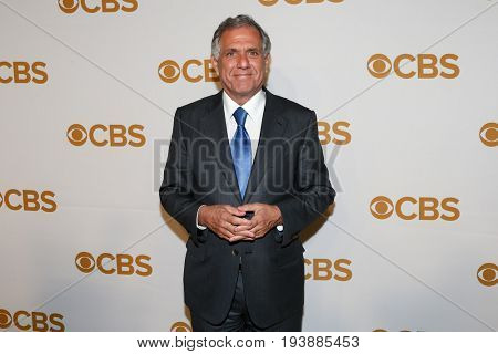 President and Chief Executive Officer of CBS Corporation Les Moonves attends the 2015 CBS Upfront at The Tent at Lincoln Center on May 13, 2015 in New York City.