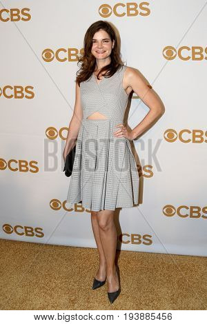 Actress Betsy Brandt attends the 2015 CBS Upfront at The Tent at Lincoln Center on May 13, 2015 in New York City.