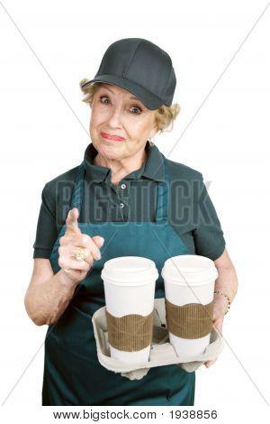Senior Worker - Confrontation
