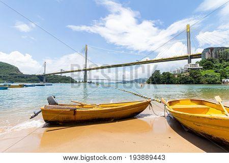 Hong Kong Ting Kau bridge