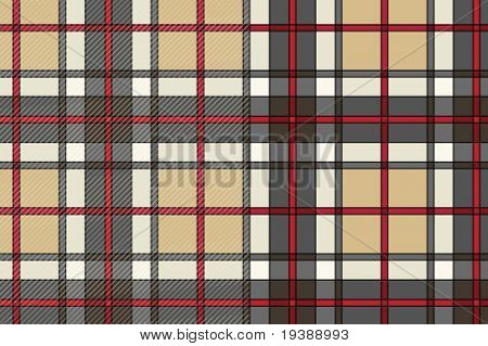 beautiful vector scottish cloth, half has texture. Please check my portfolio for more great vectors!