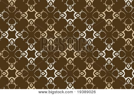 a seamless wallpaper in earth and pale tones