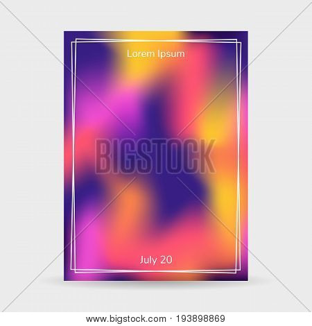 Fluid Colors Background, Blurred Background, Poster, Purple, Pin