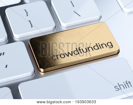 Crowdfunding Sign Button