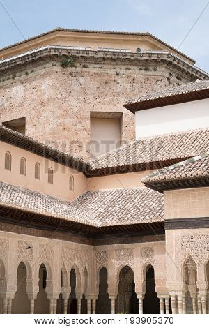Granada, Spain - Alhambra Palace And City Of Granada