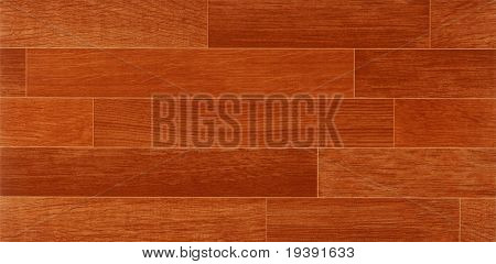 Texture of fine brown parquet