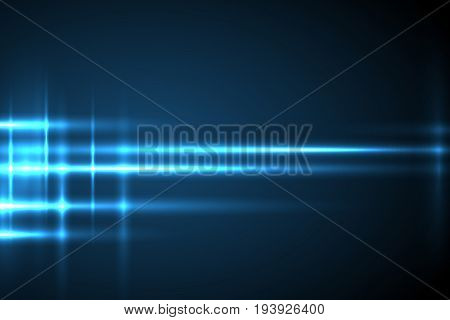 Abstract vector design. Glow light motion vector background