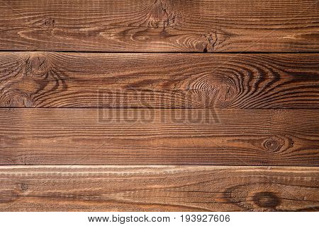 Photo of brown wooden texture, board horizontally