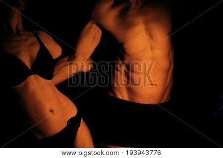 Sexy Slim Nude Couple