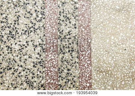 Vintage polished granite flat tile surface texture