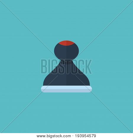 Flat Icon Stamp Element. Vector Illustration Of Flat Icon Mark  Isolated On Clean Background. Can Be Used As Mark, Stamp And Model Symbols.