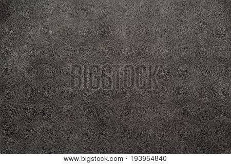 Black brown leather texture close-up, useful for background design