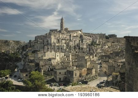 View of Matera European Capital of Culture
