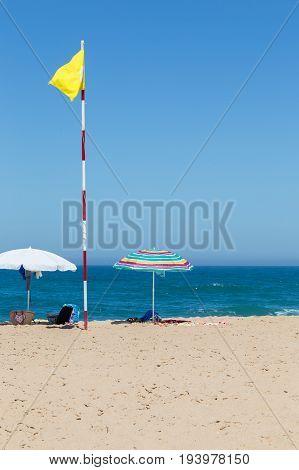 Long Beach On Atlantic Ocean Coast