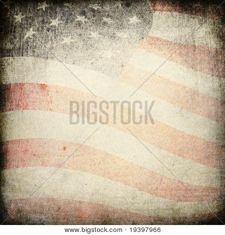 Patriotic vintage heavy background.