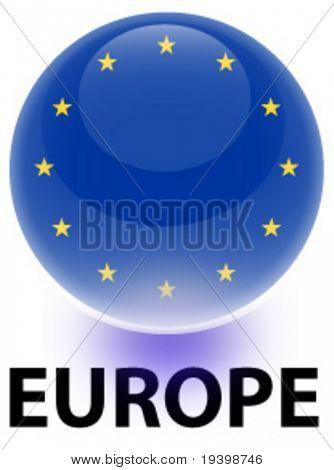 Orb Europe Flag