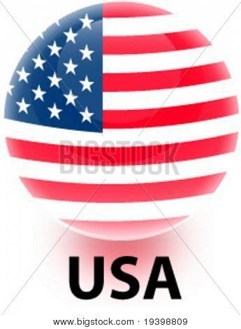 Orb United States Flag
