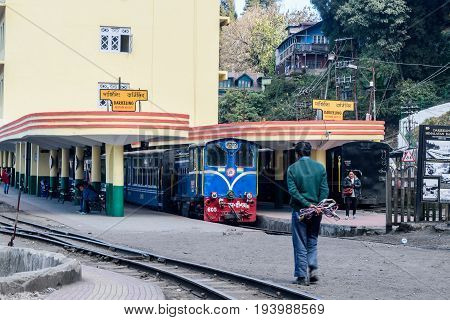 December 31,2016.Darjeeling railway station is a main railway station in Darjeeling district in the Indian state of West Bengal. The station lies on UNESCO World Heritage Site.
