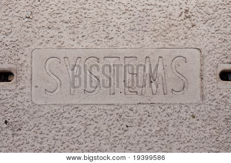 Systems Manhole Cover