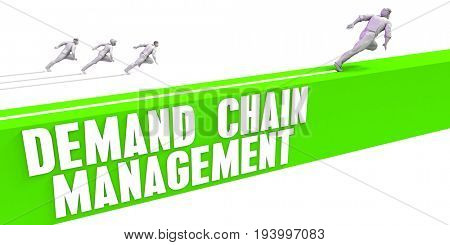 Demand Chain Management as a Fast Track To Success 3D Illustration Render