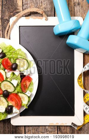 healthy fitness meal, diet plan concept