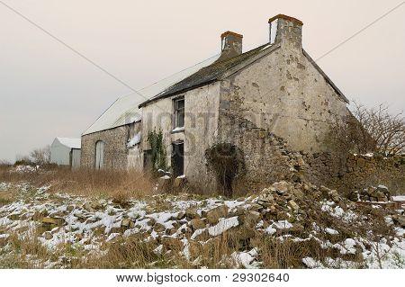 Old Derilict Farm Building.