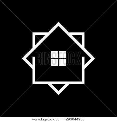 Home Icon Vector, Home Logo, Creative Real Estate Logo, Property And Construction Logo Design Vector