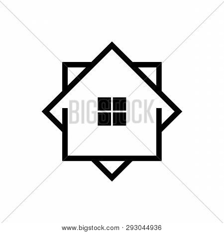 Home Icon Vector, Home Logo, Creative Real Estate Logo, Property And Construction Logo Design Vector